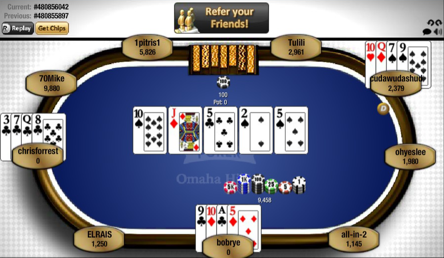 Top Online Poker Games