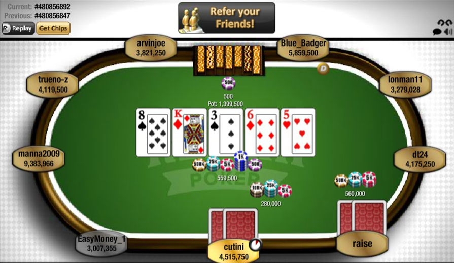 games free poker play for
